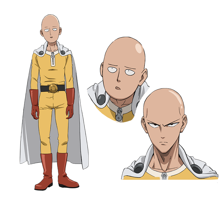 6 Anime Characters Who Can Challenge Saitama : One punch man tv ot just an average guy who serves as
